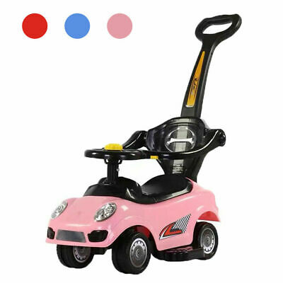 Ride On Toys 3 In 1 Baby Push Car,Convertible Toddler Walker&Stroller • 26.90£