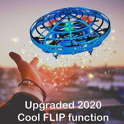 AU19.99 • Buy Mini Drones 360° Rotating Smart Mini UFO Drone For Kids Flying Toys Hand-Control