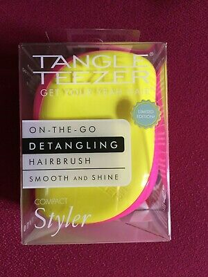 Cyberpunk Vibe Compact Mini Styler Tangle Teezer Hair Brush Kaleidoscope • 8.99£