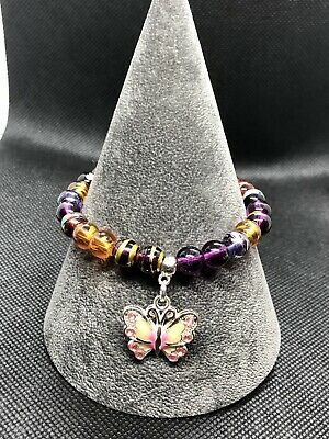 Butterfly Stretch Bracelet • 4£