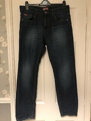 Mens Blue Denim Lee Cooper Jeans Size W34 L30 • 2.60£
