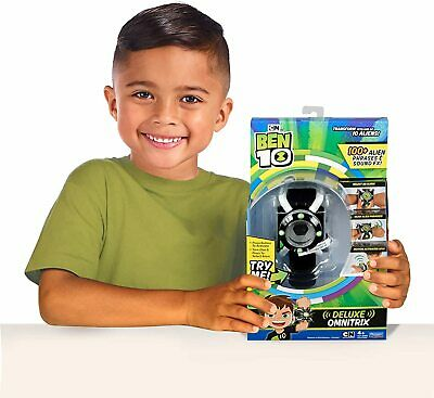 Ben 10 Deluxe Omnitrix Watch Light Up Sounds Talking Wrist Toys • 50.62£