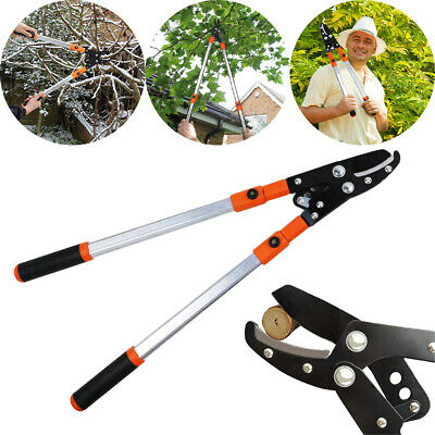 Telescopic Ratchet Anvil Pruner,lopper Pruners, Branch Cutters,garden Pruning • 17.99£