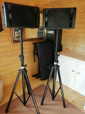 Yamaha Speakers On Tripod Stands • 80£