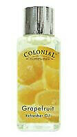 Colonial Grapefruit Scented Refresher Oils • 0.68£