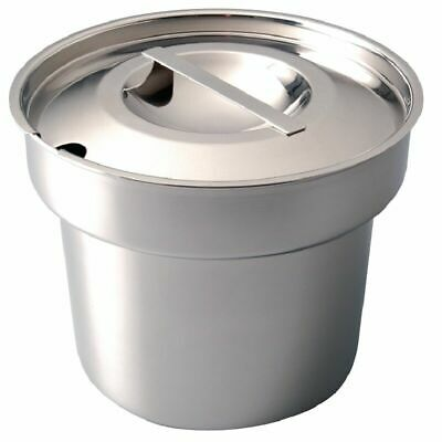 £9.99 • Buy Zodiac Sunnex Round Bain Marie Pot 4 Litre Pan OR Lid Catering Food Warmer NEW