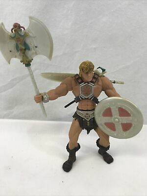$21.99 • Buy Battle Sound He-Man 2001 Complete Figure Masters Of The Universe EUC