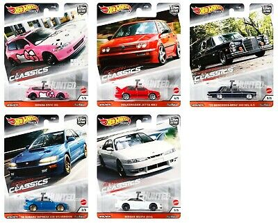 Hot Wheels Car Culture Modern Classics Toy Model Complete Set Or Individual  • 11.99£