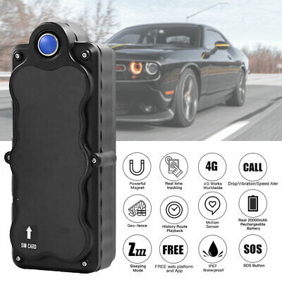 AU126.88 • Buy 4G GPS Tracker Real-Time 5000mAh Anti-Theft Surveillance Magnetic Tracking AU