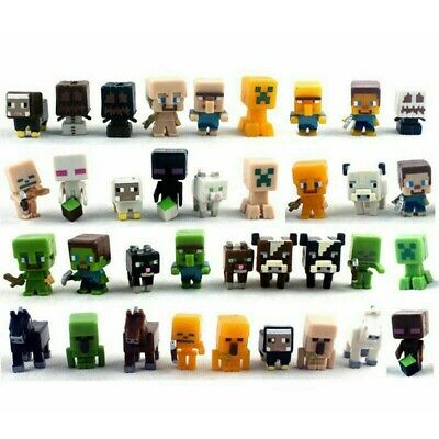 AU28.04 • Buy NEW! 36Pcs/Lot Cute Mini Action Figure Steve Creeper Kids Toys Xmas Gifts