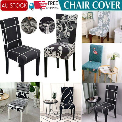 AU5.99 • Buy Super Stretch Dining Chair Covers Removable Slipcover Washable Banquet Furniture