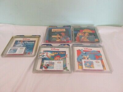 Vintage Collectable Of 5 DISNEY Read Along Collection Books & Cassette Tapes  • 8.99£