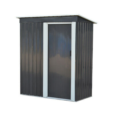Panana New Metal Garden Shed 3 X 5FT Outdoor Tools Box Storage House • 149.99£
