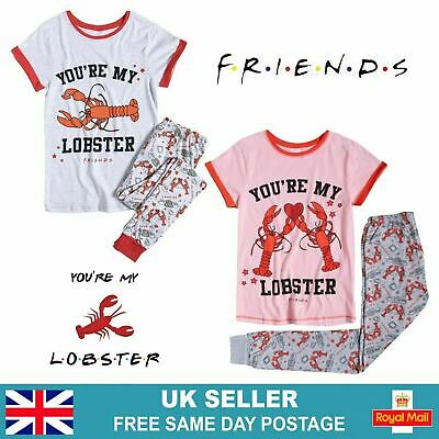 £11.95 • Buy Womens Friends Pyjamas Sets | Official TV Show Lobster Pjs Christmas Gift