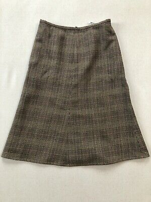 Beautiful Caroline Charles Wool Tweed Skirt Size 14. • 18£