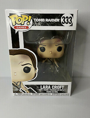Funko Pop 333 Lara Croft + Free Pop Protector • 15£