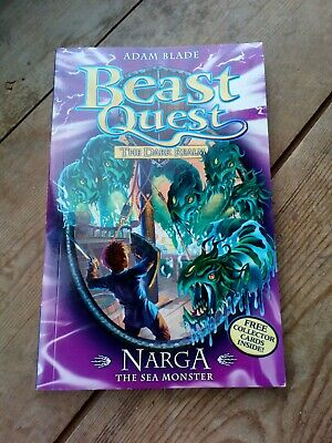 Beast Quest Nagra Book The Sea Monster • 0.75£