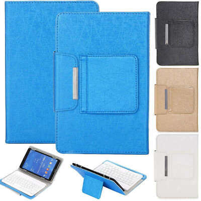 7  Tablet Universal Wireless Keyboard Leather Case Cover For LG G Pad F7.0 LK430 • 15.99£
