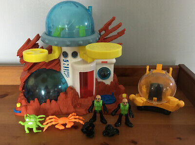 Imaginext Space Bundle. Space Station~Space Buggy~Figures • 22.50£