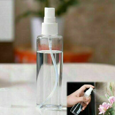50/100ML Travel Transparent Plastic Perfume Atomizer Empty Small Spray Bottle • 1.99£