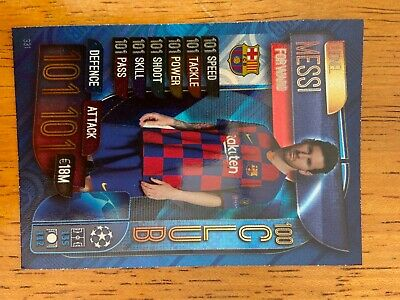 LIONEL MESSI Topps Match Attax Champions League 100 Hundred Club 2019 2020 101 • 0.99£