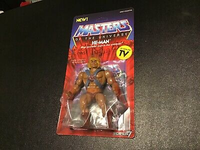 $24.99 • Buy He-Man Masters Of The Universe Action Figure By Super7  Moc Vintage Style  Motu