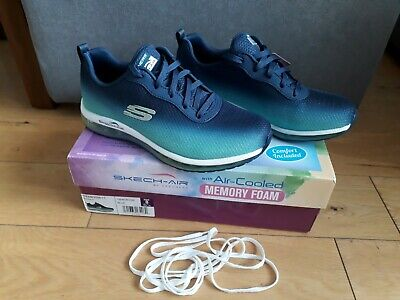 Sketchers Air Cooled Memory Foam Running Shoes Trainers Size UK5 BNIB  • 47.99£
