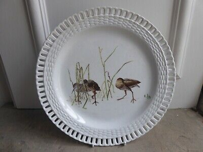 MINTON BB Impressed Mark Aesthetic Movement Plate C1870's Wading Birds Plate 9  • 10£