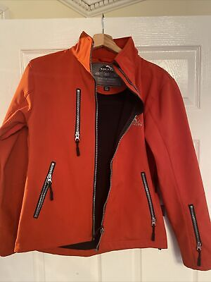 Womens Cox Swain Soft Shell Jacket - Red - Small - With Hood  • 0.99£