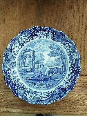 Spode Blue Room Collection Italian Round Fluted DISH WITH ORIGINAL BOX  • 0.99£