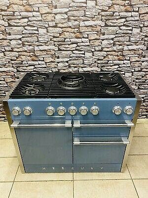Mercury RC 1090 Chinese Blue & Crome 110 Cm Dual Fuel Range Cooker With Wok • 2,575£