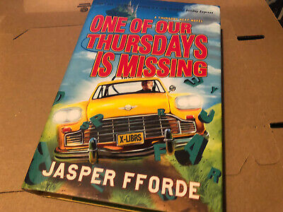 Jasper Fforde One Of Our Thursdays Is Missing Signed Book Hardback • 2.50£