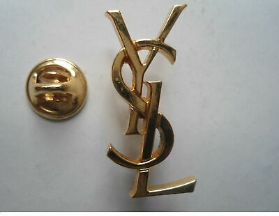 Yves Saint Laurent Original Pin Badge From YSL Libre Launch Event Sept 2019 • 10£