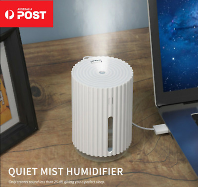 AU13.99 • Buy USB Air Humidifier Ultrasonic Aroma Essential Diffuser Cool Mist For Home Car