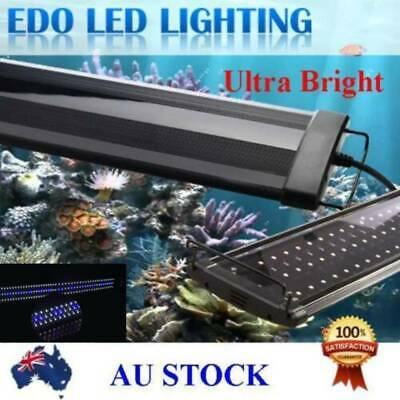 AU46.92 • Buy 90-140CM Aquarium LED Lighting 3ft/4ft Marine Aqua Fish Tank Light Lamp AU SHIP