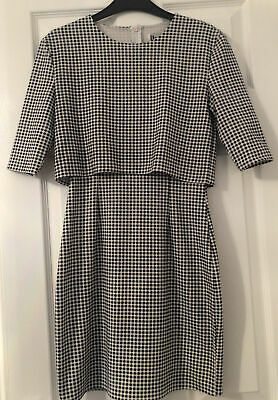 Hearts And Bows Dress Black And White Size 6 • 2£