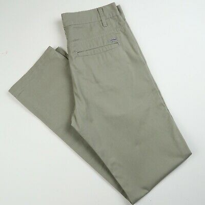 Carhartt Mens Station Pants Trousers Chinos Stone Sz 30  X 32  (E624) • 16.99£