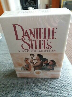 Danielle Steel DVD Collection. 3 Disc Set. Star, Daddy, Changes. New And Sealed. • 3.99£