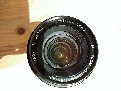 Yashica ML Zoom Lens Contax / Y Mount 35-105mm F35 -45 Japan • 5£