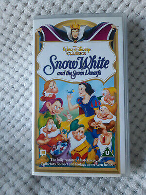 Walt Disney Classics Snow White And The Seven Dwarfs  • 3.50£