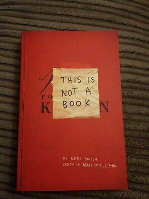This Is Not A Book By Keri Smith (Paperback, 2011) • 3.80£