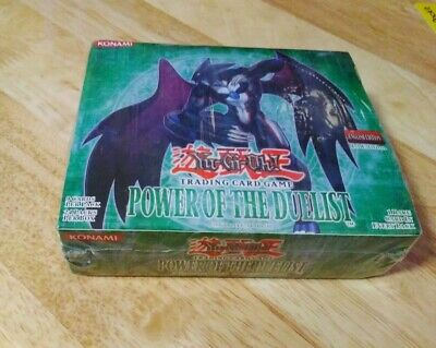YuGiOh Power Of The Duelist Booster 24 Pack Box 1st Edition Sealed POTD KONAMI • 79£
