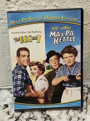 $11.99 • Buy Ma  Pa Kettle Double Feature: The Egg And I/Ma  Pa Kettle (DVD, 2015)