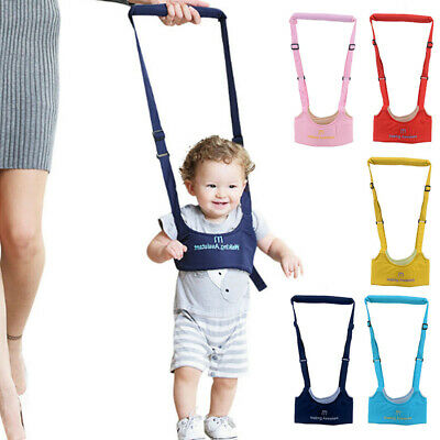 Baby Toddler Walking Harness Aid Assistant Reins Learn Walk Safety Equipment • 7.40£