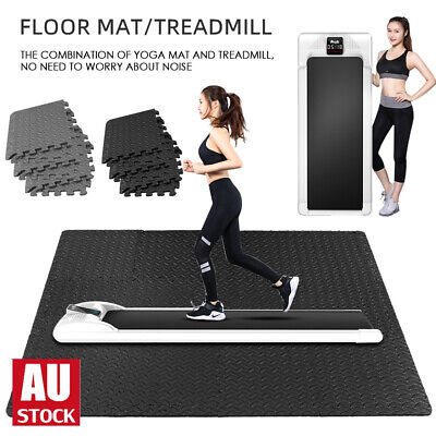 AU312 • Buy LCD Electric Treadmill Walking Pad Home Office Gym Exercise Fitness Compact/ Mat