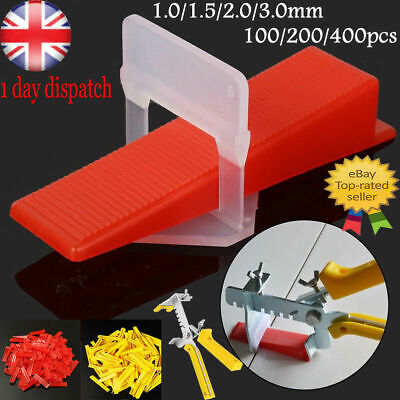 £12.38 • Buy ✅UK 400 X Tile Leveling Spacer System Tool Clips Wedges Flooring Lippage Plier✅