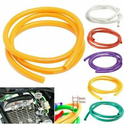 5mm I/D 8mm Petrol Fuel Hose Gasoline Pipe Universal 1M Motorcycle Tube Rubber • 3.28£