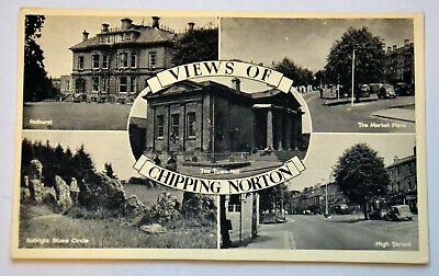 £5.84 • Buy OLD VINTAGE POSTCARD Views Of Chipping Norton Multiview  UNPOSTED
