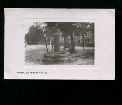 Reading Old Pump At Whitley Postcard 1910 • 3.50£