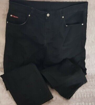 Lee Cooper Black Jeans W38 Inch L30 Straight Leg • 0.50£